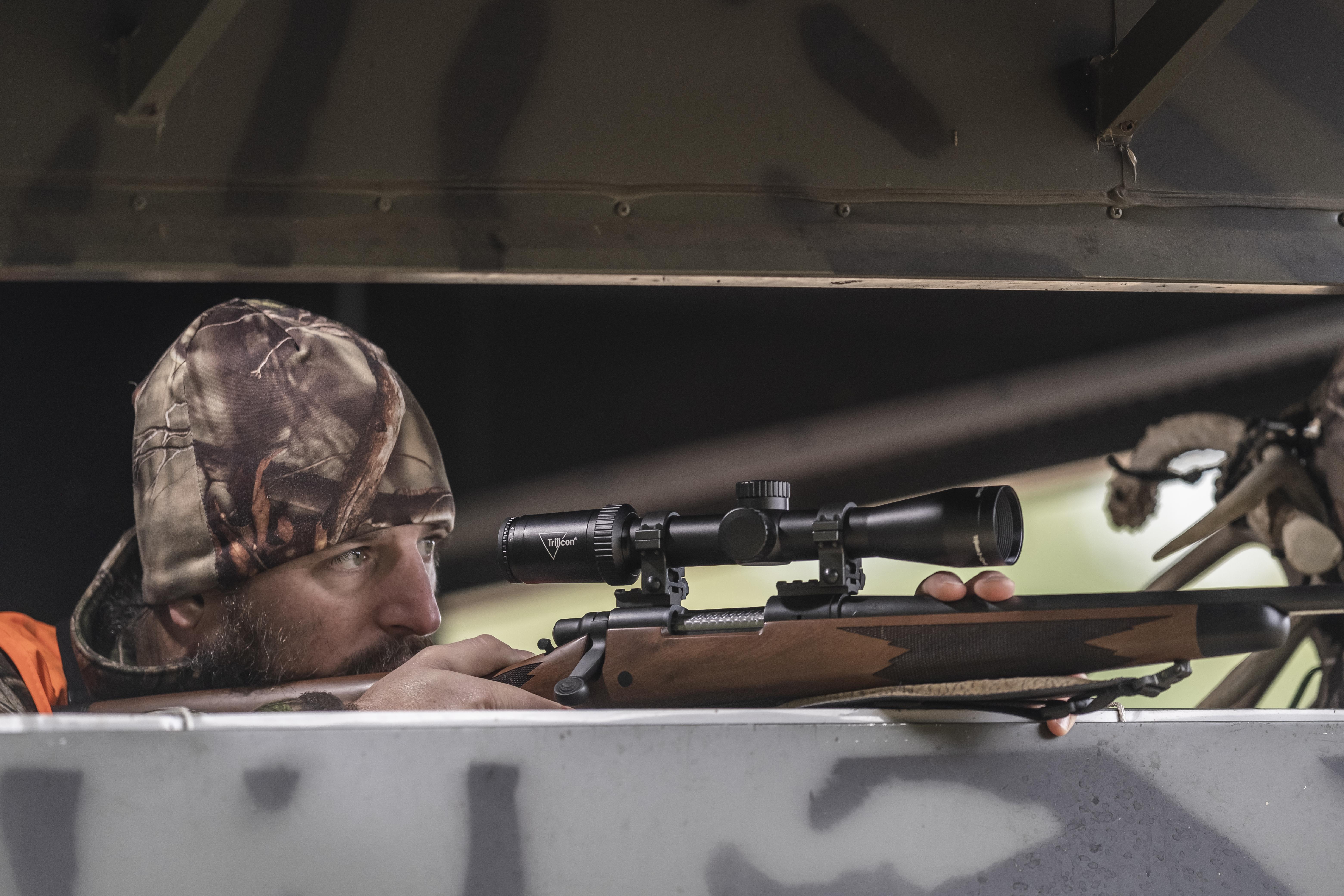 Trijicon Huron® Riflescope Line Receives NRA Golden Bullseye Award – Named 2021 American Hunter Optic of the Year