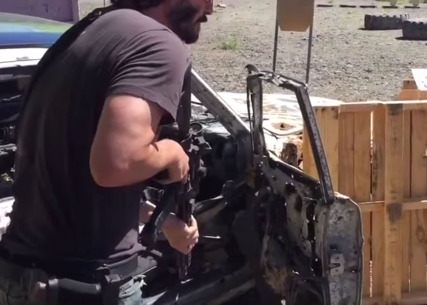 Keanu Reeves Training - AccuPoint/RMR