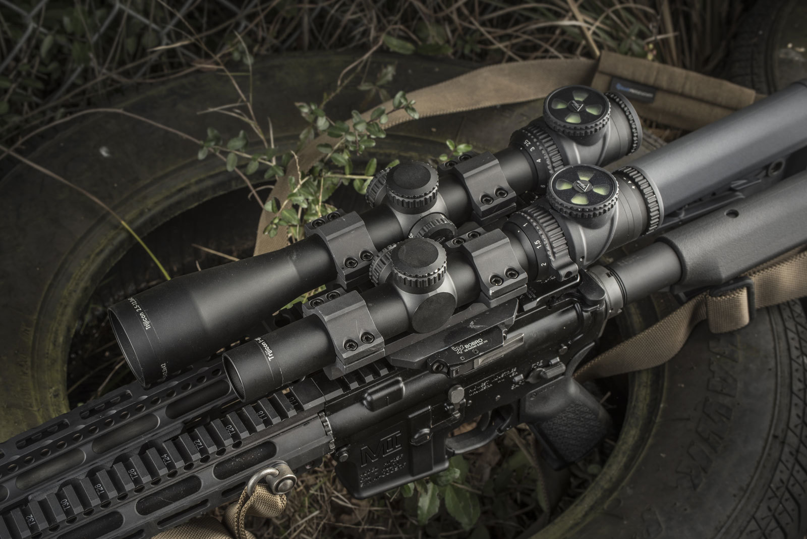 AccuPoint® variable powered riflescope line added 1-6x24 and 2.5-12.5x42 models