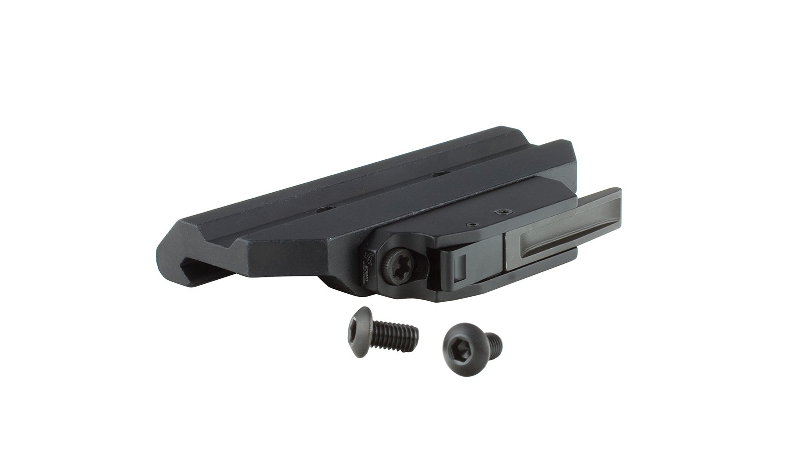 Trijicon Quick Release Mount for 3.5x, 4x, and 5.5x, ACOG®, 1-6x VCOG®, and 1x42 Reflex (w/ ACOG Base)