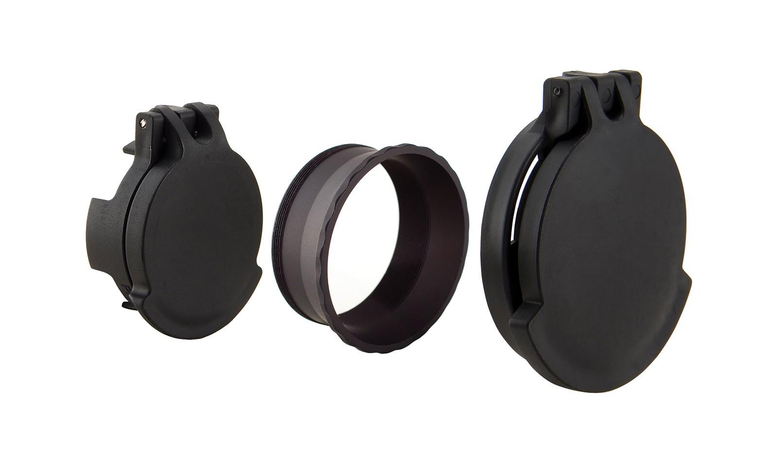 SRS<sup>®</sup> Tenebraex<sup>®</sup> Eyepiece & Objective Flip Cap Set w/Retainer