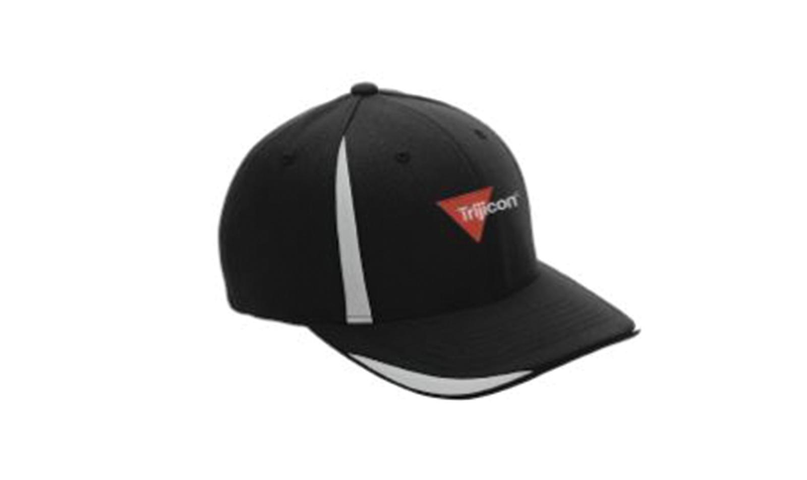 Trijicon<sup>®</sup> Flexfit Hat - Black/Silver - S/M