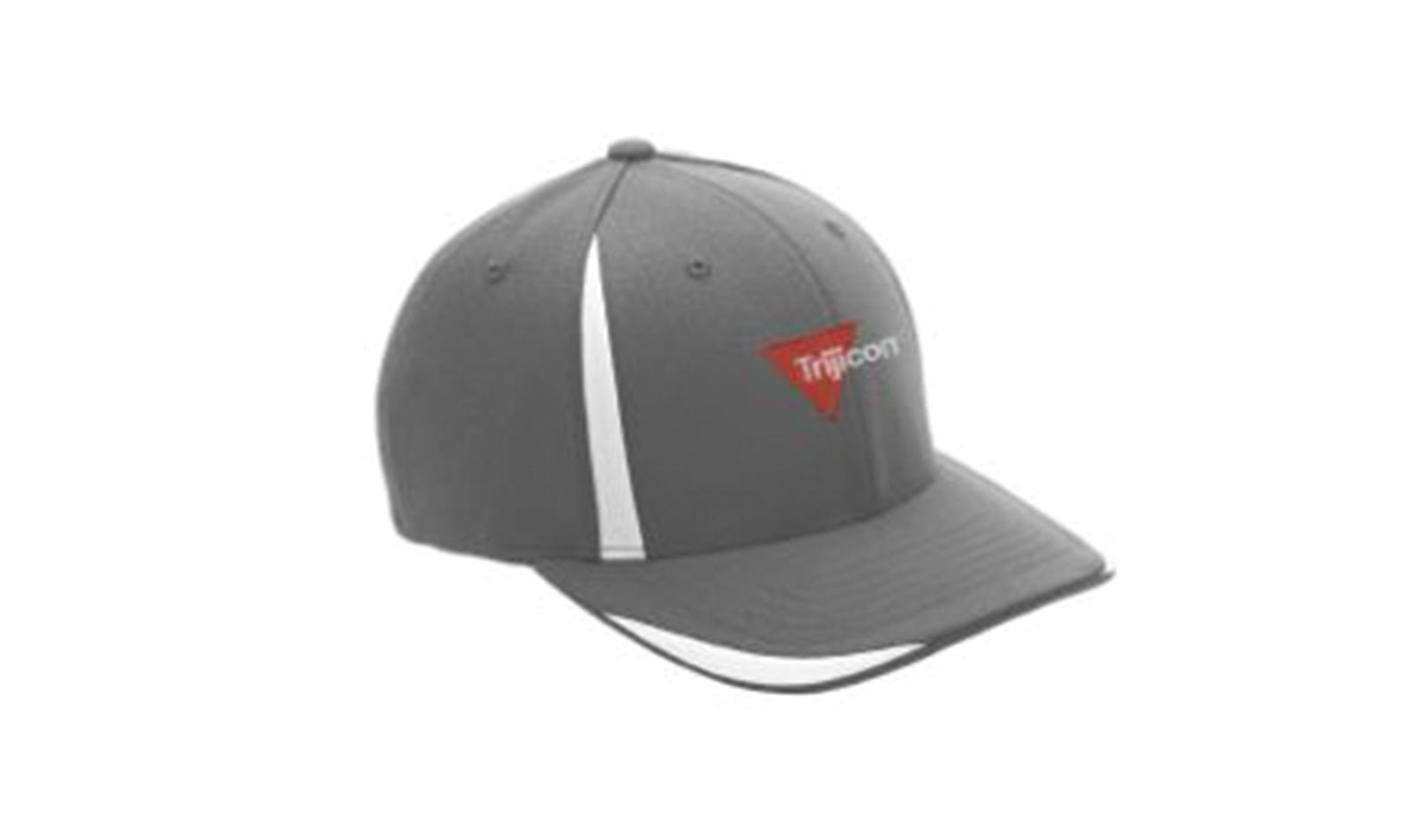 Trijicon<sup>®</sup> Flexfit Hat - Gray/White - L/XL