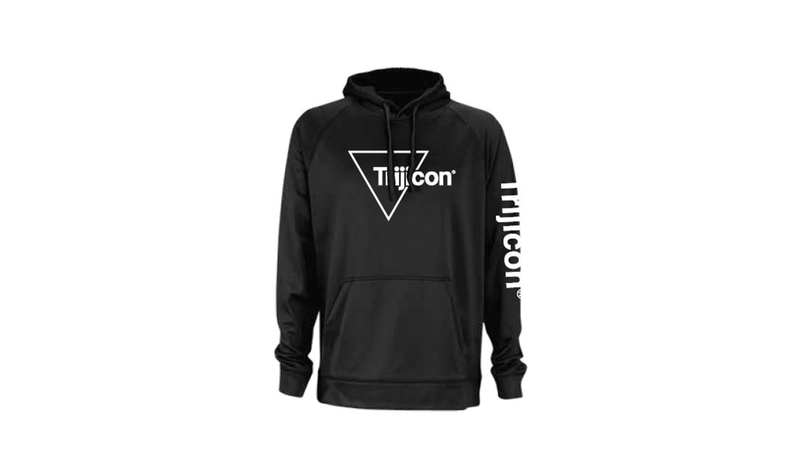 Trijicon<sup>®</sup> Micro-Fleece Pullover Hoodie - Black - SM