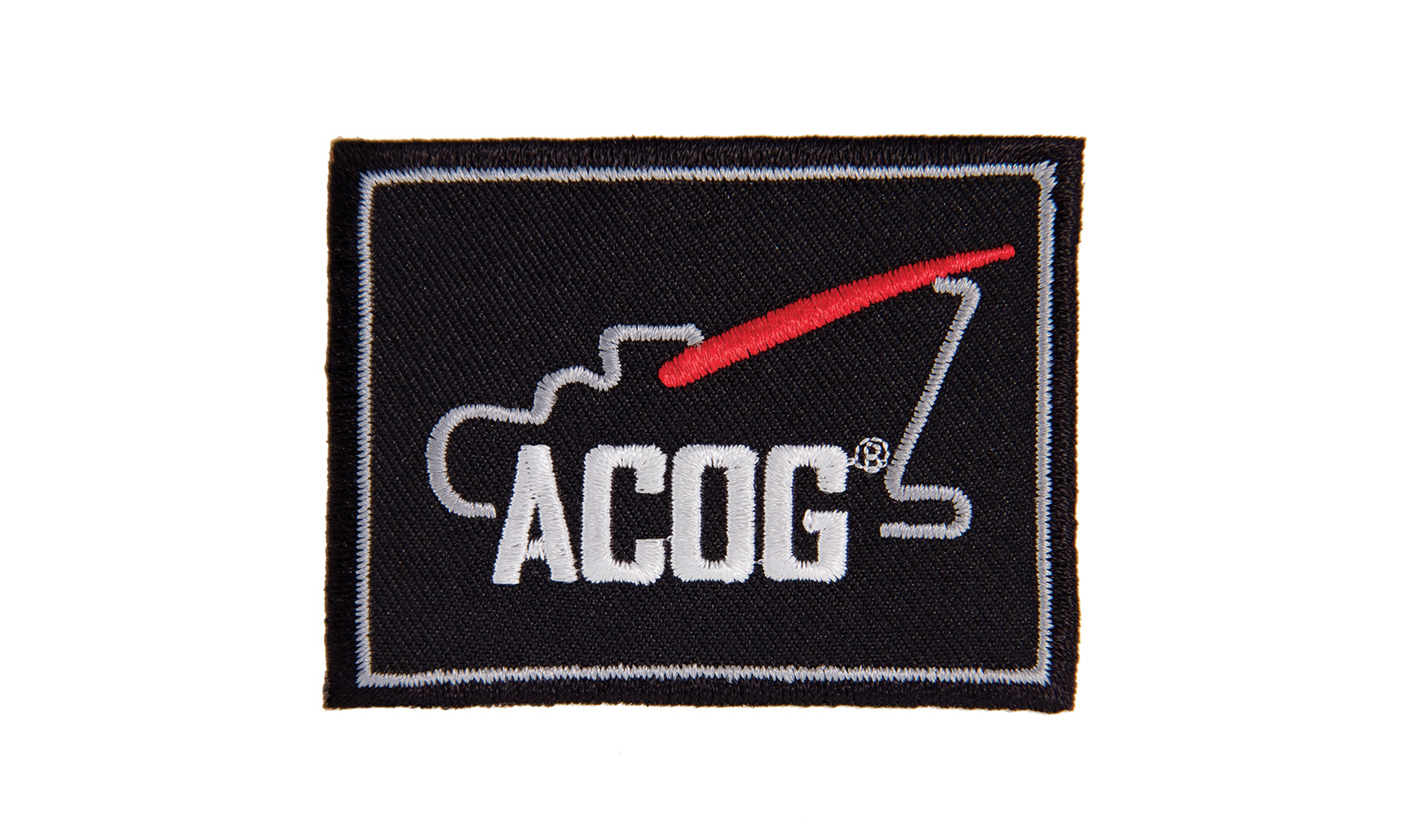 Trijicon<sup>®</sup> ACOG Patch  - Black/White/Red