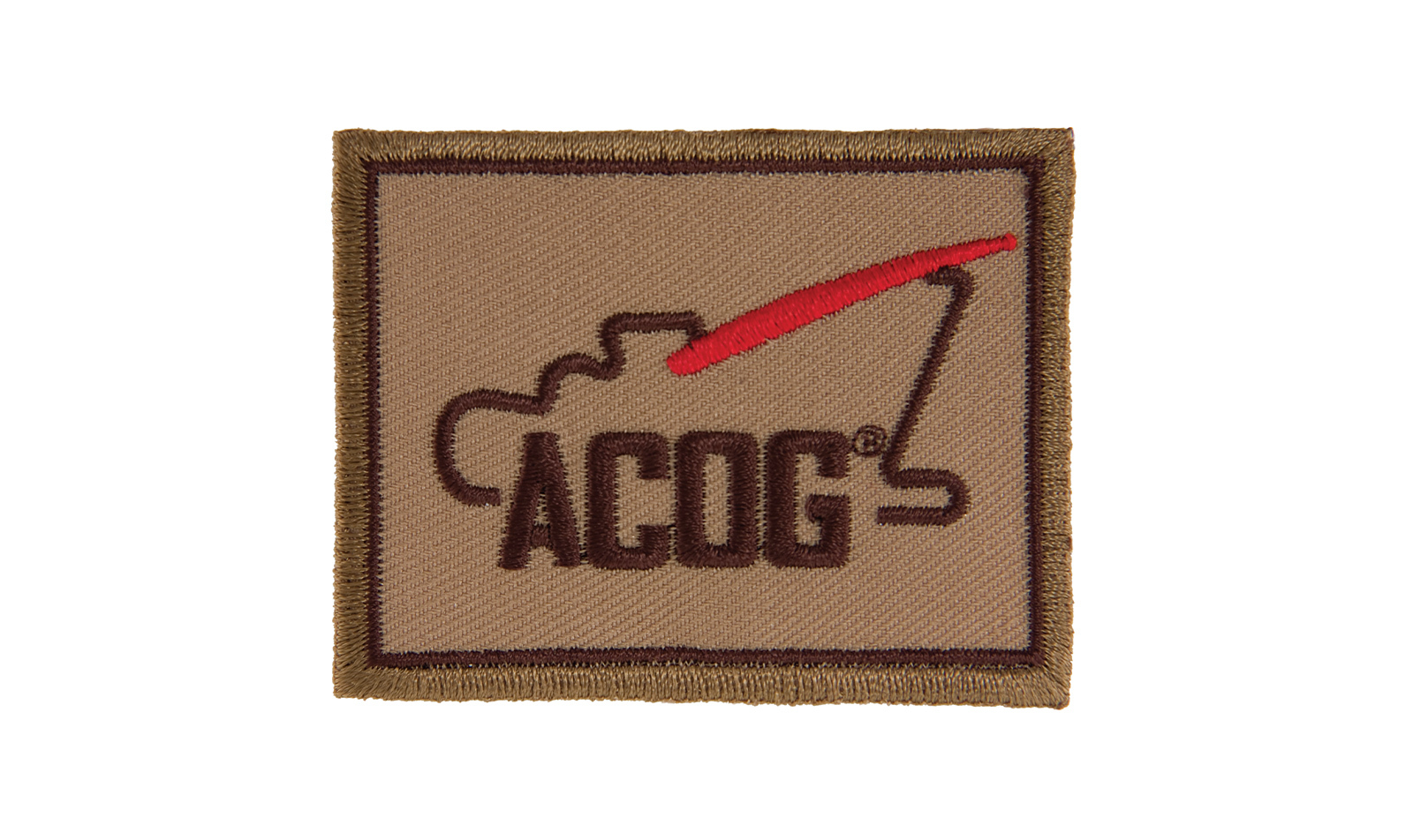 Trijicon<sup>®</sup> ACOG Patch - Tan/Brown/Red