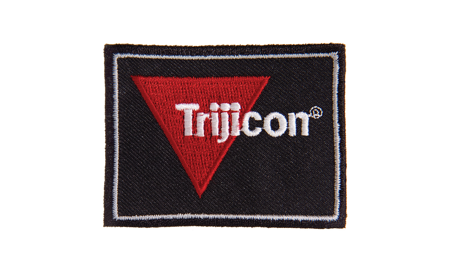 Trijicon<sup>®</sup> Logo  Patch  - Black/Red/White