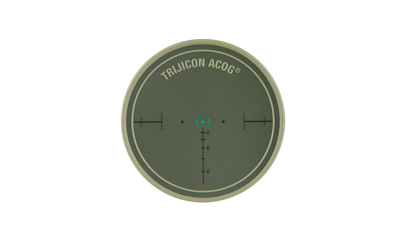 Trijicon<sup>®</sup>  Horseshoe Reticle Patch - Olive