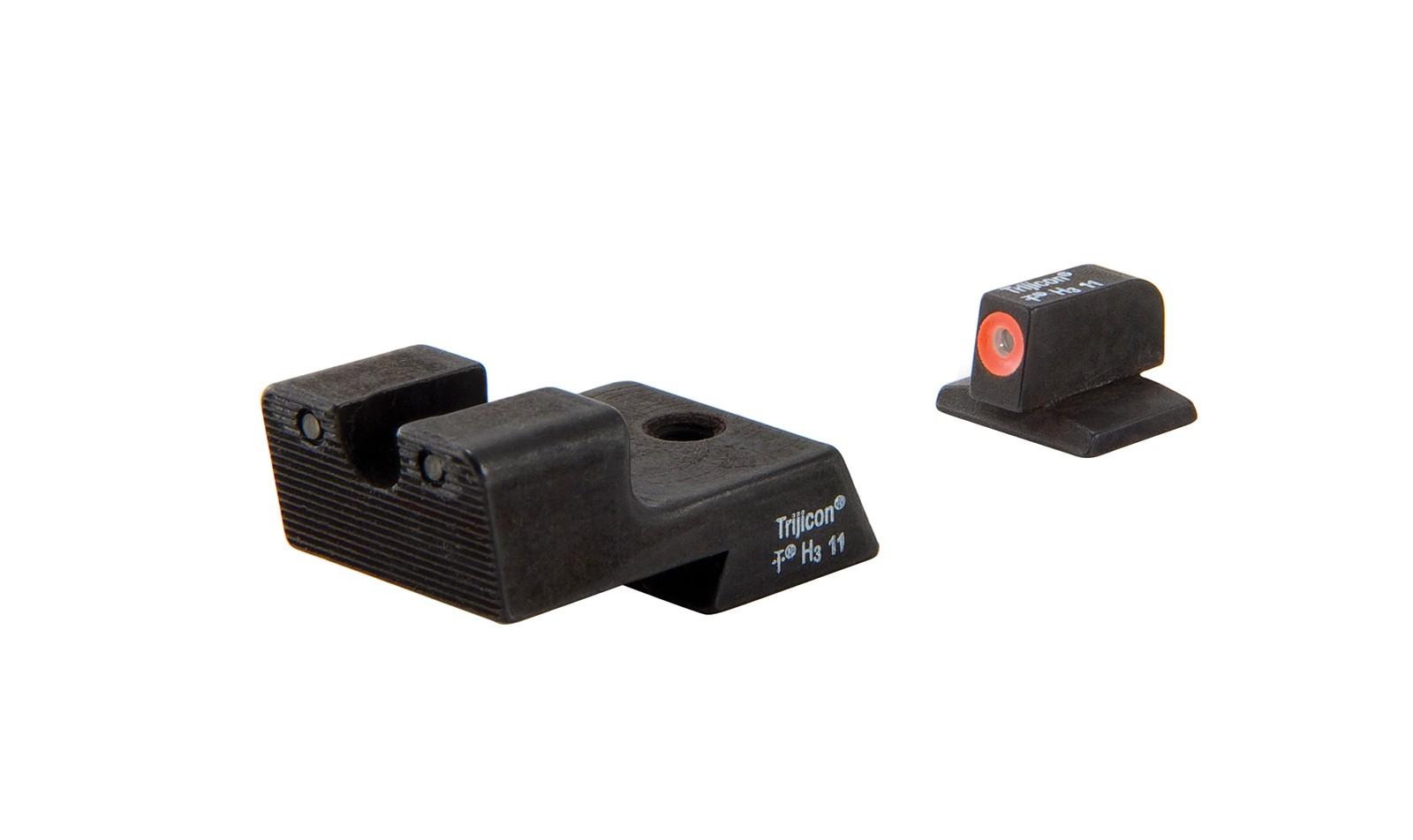 Trijicon HD™ Night Sights - 1911 Novak Style Low Mount Dovetail Cut