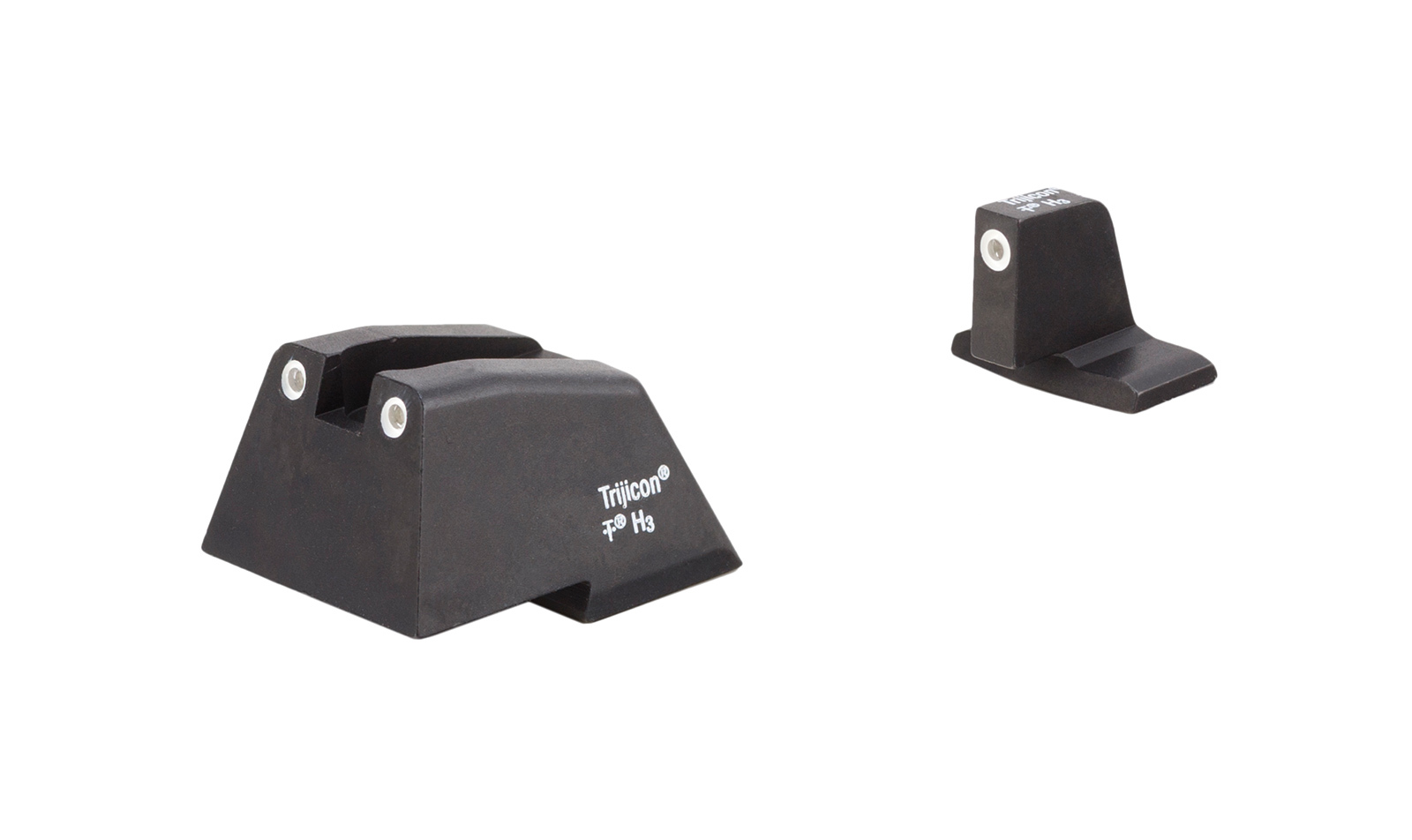 Trijicon Bright & Tough Suppressor Sights - H&K .45C, P30, VP9 (Excluding VP9 Optics Ready)