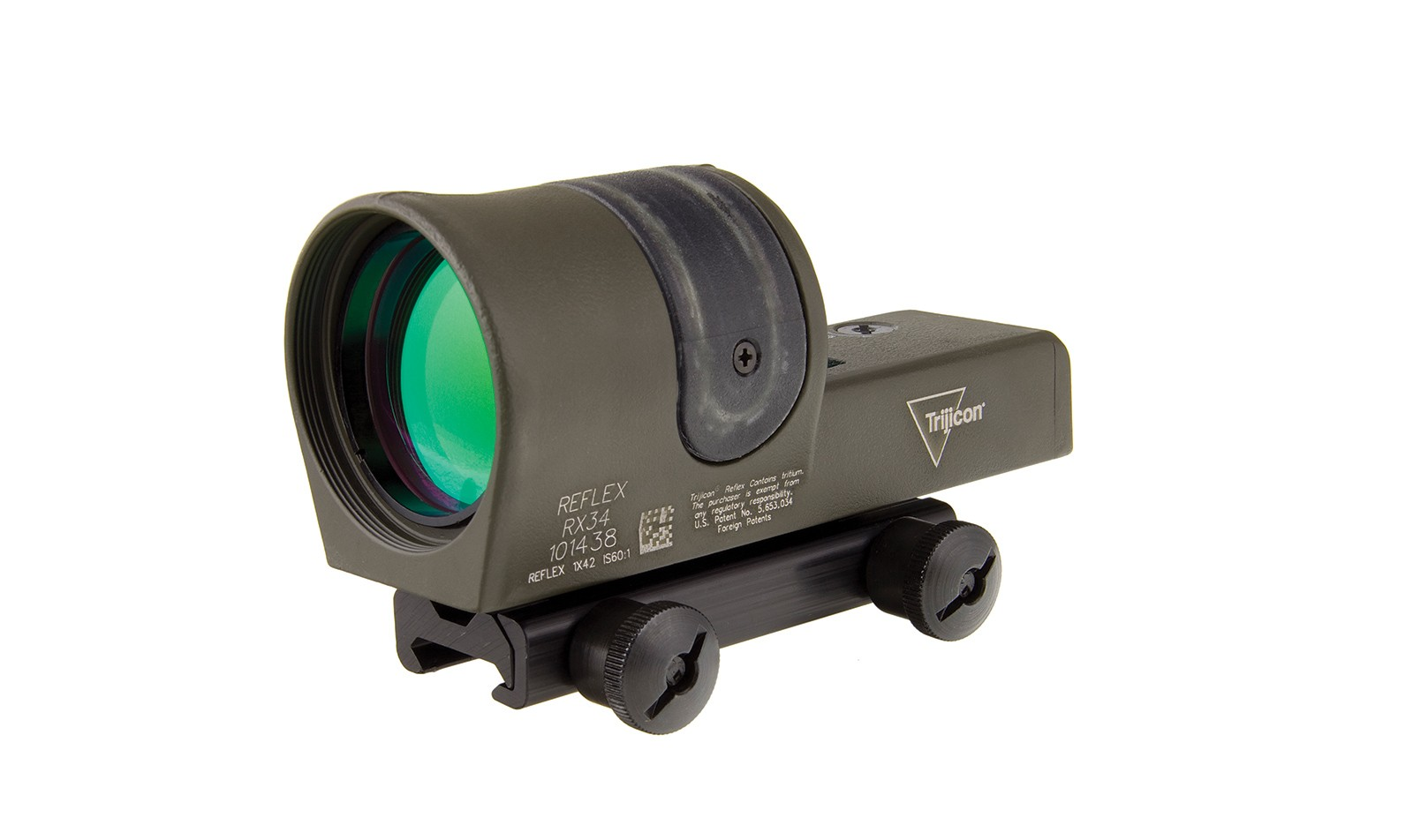Trijicon<sup>®</sup> Reflex 1x42 Dual Illuminated Sight - OD Green