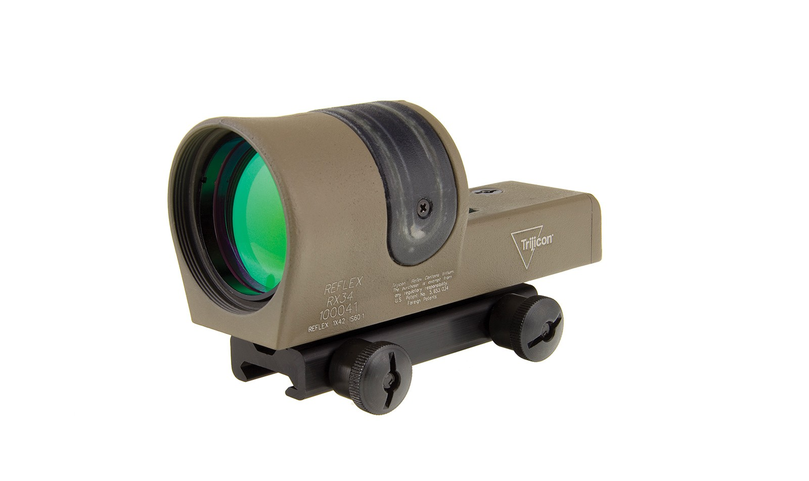 Trijicon<sup>®</sup> Reflex 1x42 Dual Illuminated Sight - FDE