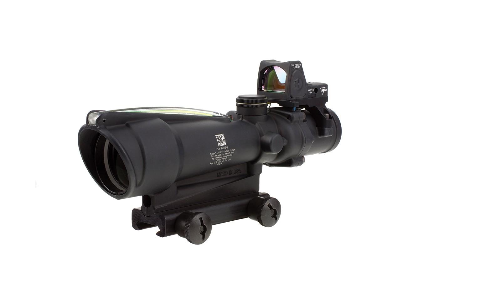 Trijicon ACOG<sup>®</sup> 3.5x35  BAC Riflescope with Trijicon RMR<sup>®</sup> -.223 BDC