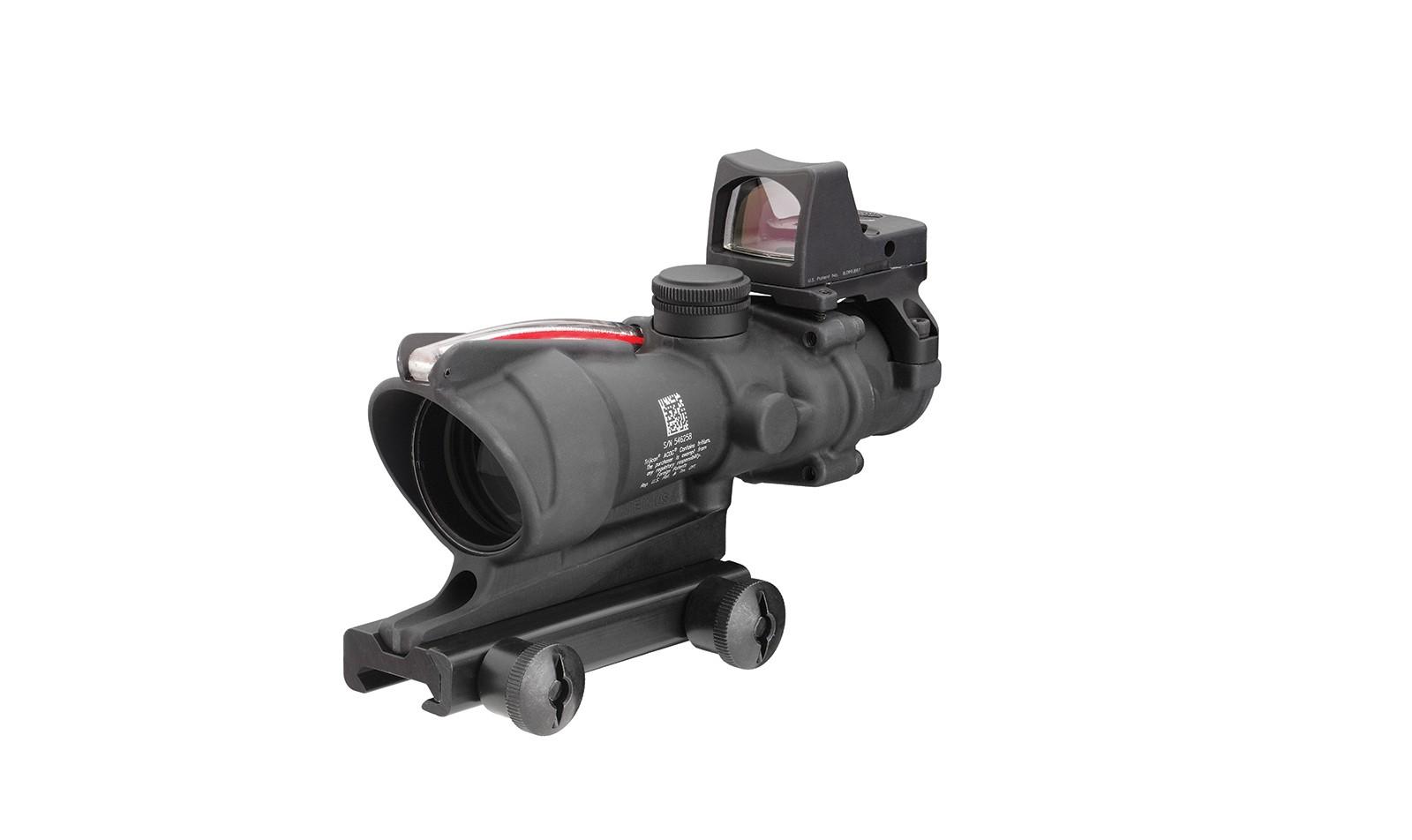 Trijicon ACOG® 4x32 BAC Riflescope w/ Trijicon RMR® -.223 BDC
