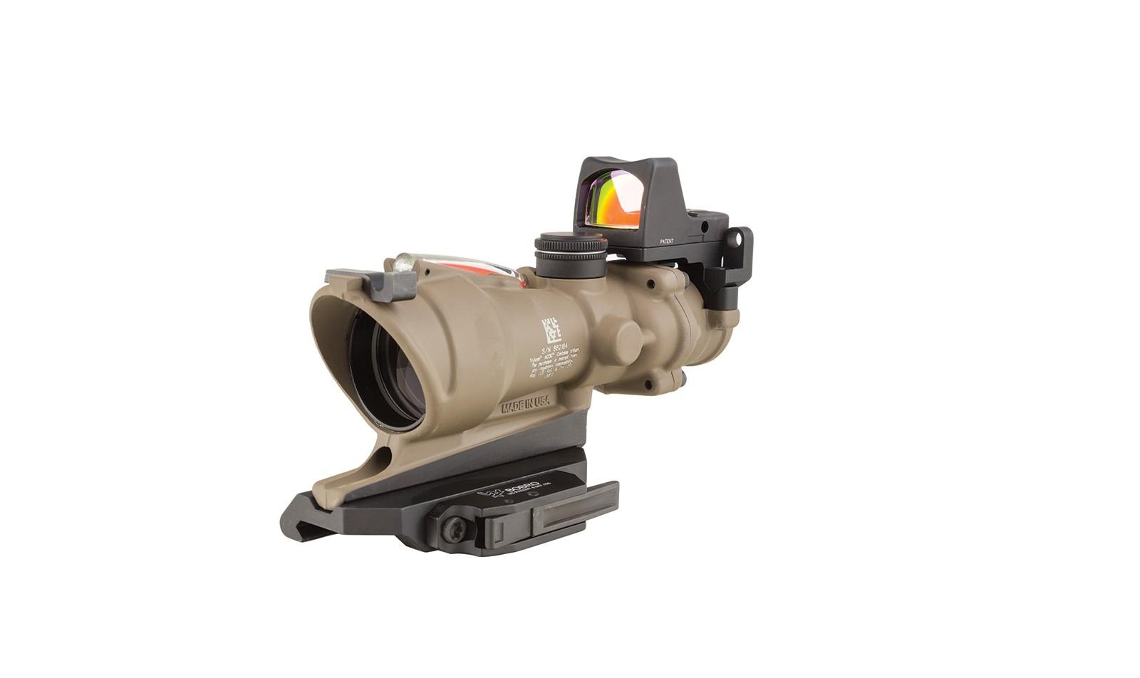 Trijicon ACOG® 4x32 BAC ECOS Riflescope with Trijicon RMR® -.223 BDC