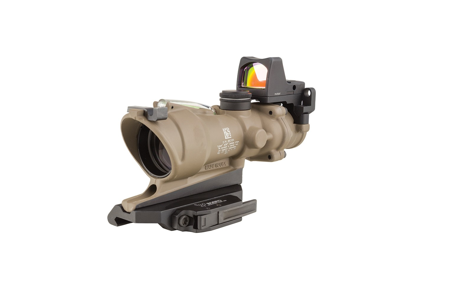 Trijicon ACOG® 4x32 BAC ECOS Riflescope with Trijicon RMR® -5.56 BDC