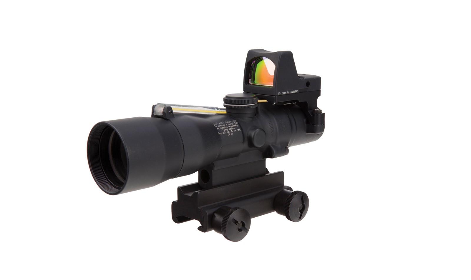 Trijicon ACOG® 3x30 BAC Riflescope  and Trijicon RMR® - 5.56x45mm / 62gr