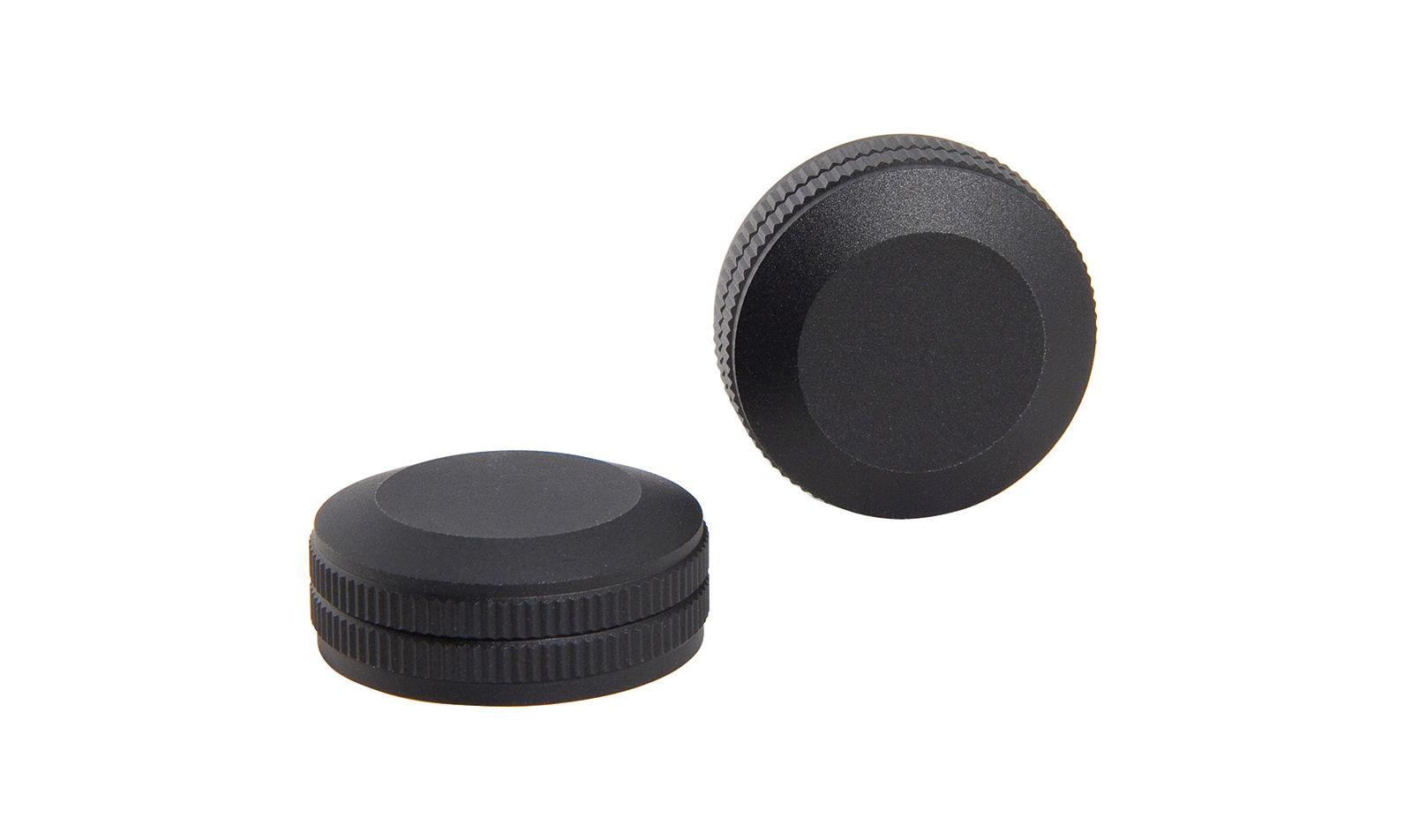 Trijicon<sup>®</sup> Adjuster Cap Covers for  AccuPoint<sup>®</sup> 3-9x40 and 2.5-10x56