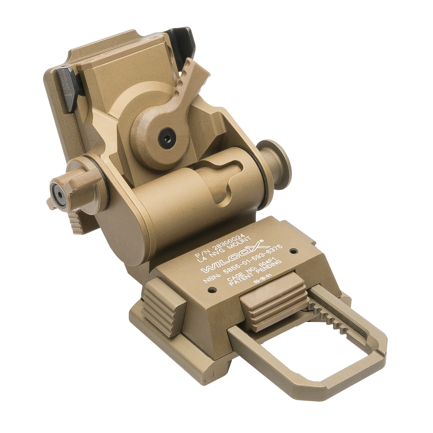 Trijicon® Electro Optics  Wilcox®G24 Mount-Tan