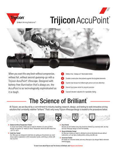 Download AccuPoint Spec Sheet