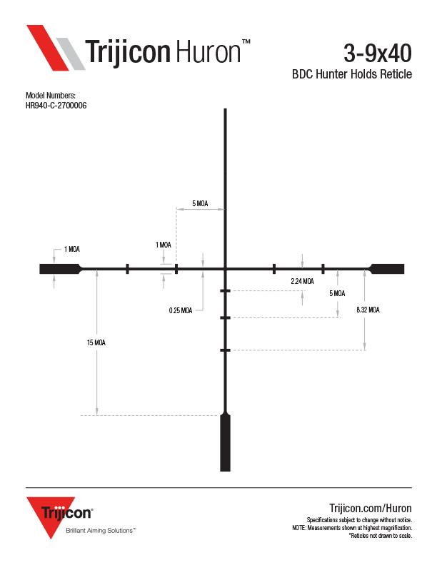 Download Huron Reticle Dimensions
