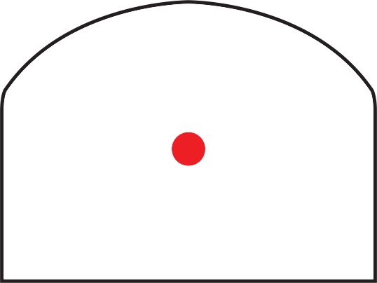Trijicon RMR<sup>®</sup> Type 2 Red Dot Sight RETICLE