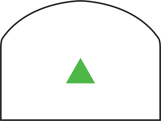 Trijicon RMR<sup>®</sup> Dual Illuminated Reflex Sight RETICLE