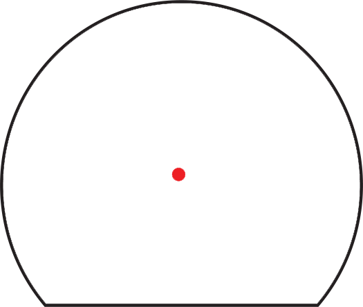 Trijicon SRO<sup>®</sup>  Red Dot Sight RETICLE