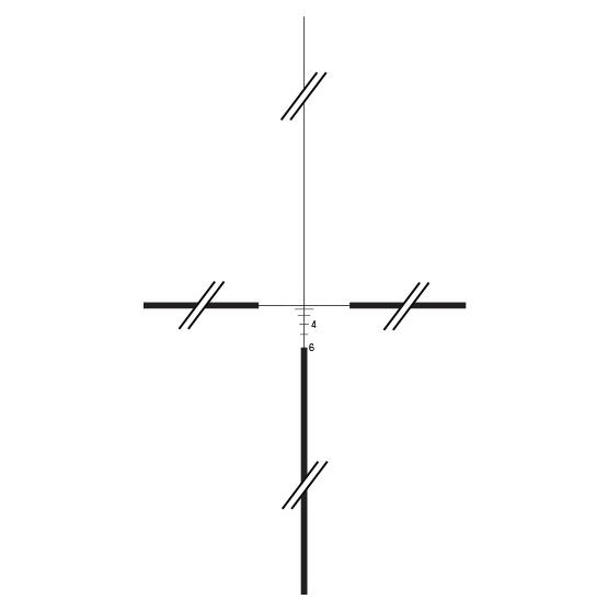 Trijicon ACOG<sup>®</sup>  4x32 Tritium Riflescope - .223 / 5.56 BDC RETICLE