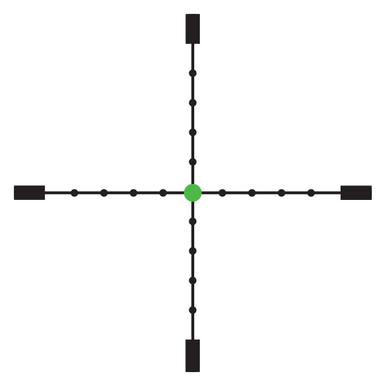 Trijicon AccuPoint<sup>®</sup> 2.5-10x56 Riflescope RETICLE