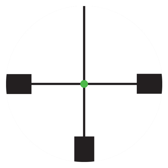 Trijicon AccuPoint<sup>®</sup> 1-6x24 Riflescope RETICLE
