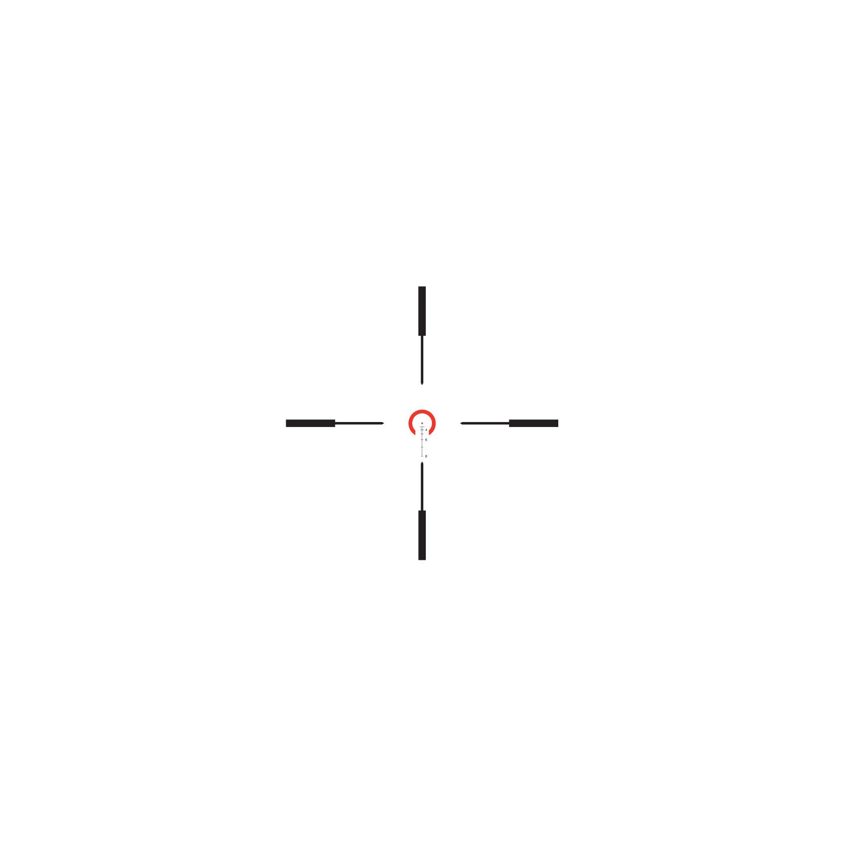Trijicon VCOG<sup>®</sup> 1-6x24 LED Riflescope - .223 / 77 Grain RETICLE