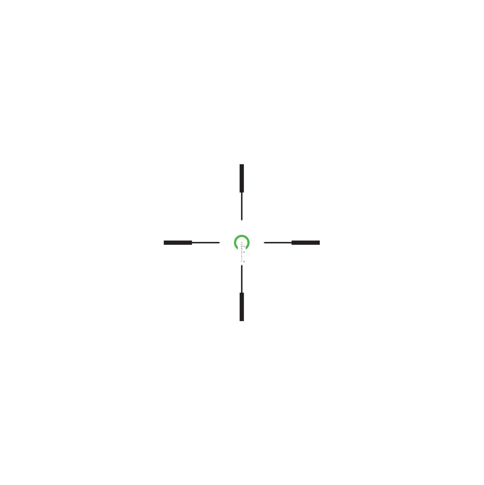 Trijicon VCOG<sup>®</sup> 1-6x24 LED Riflescope - .223 / 55 Grain RETICLE